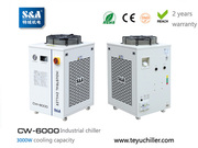 S&A industrial water chillers for laboratory application 2 years warra