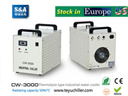 S&A CW-3000, CW-5000, CW-5200 chiller stock in USA and Europe