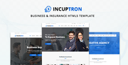 Incuptorn – Business & Insurance HTML5 Template by zozothemes